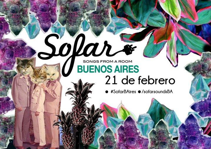 Sofar Buenos Aires poster